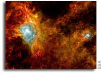 Herschel Space Observatory Captures the Birth of Stars
