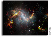 Taking a Narrow View of a Lopsided Galaxy